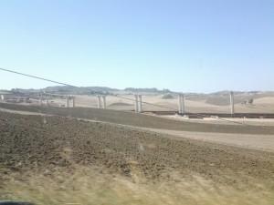 Viadotto Giulfo in fase di costruzione