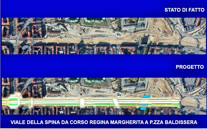 (immagine estrapolata dal progetto esecutivo, fonte comune di Torino)