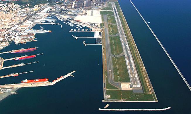 Uscita Genova Aeroporto : Aeroporto di genova nel salgono a le