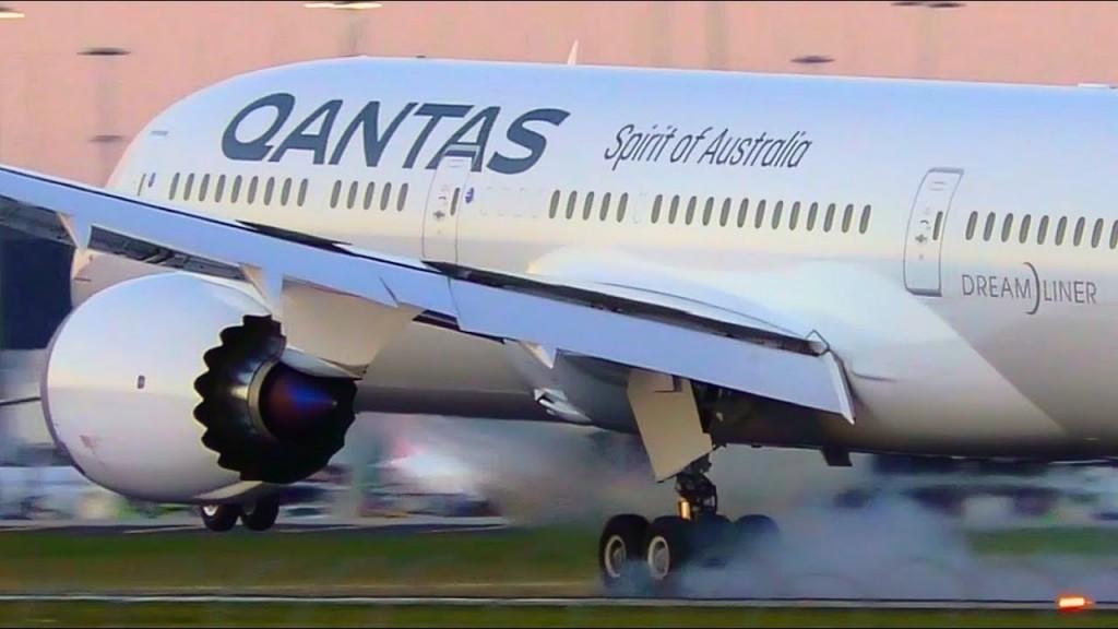 L'arrivo a Londra a del primo volo diretto Australia- Europa